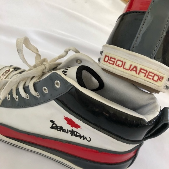 42 Poshmark Italy Made Mens Sneakers Shoes Dsquared Sz In fgq08Xxwx